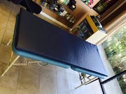 memory foam massage table topper comfort mat w memory foam pisces productions
