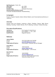 handyman resume samples  resume examples maintenance man resume         Nannies Cv Examples       Sample Nanny Resume Volumetrics Co Nannies  Resume Sample Special Skills For