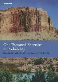 one thousand exercises in probability amazon co uk geoffrey r