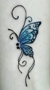semicolon butterfly i want this tattoo so much the blue butterfly