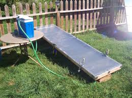 build your own flat panel solar thermal collector 8 steps with