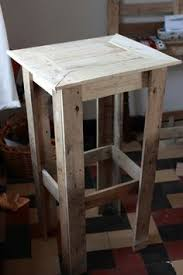 Homemade End Tables by A Little Bit Of This That And Everything Pallet Project
