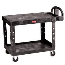 lifetime heavy duty table cart rubbermaid commercial products utility carts garage storage