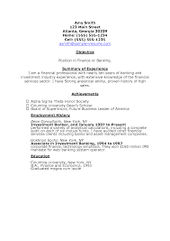 Investment Banking Resume Example by Charming Bad Resume Examples Funny Proper Resume Example Preview