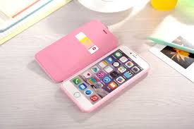 Kitty Iphone 6 Flip Leather Case