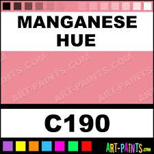 manganese classic watercolor paints c190 manganese paint