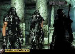 Skyrim Light Armor Mods Nightshade Armor The Elder Scrolls Iv Oblivion Skin Mods