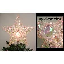 kurt s adler lighted iridescent beaded gem star christmas tree