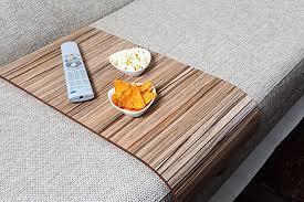 couch arm coffee table amazon com sofa tray table long european walnut sofa arm