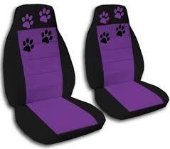 cute set paw prints car seat covers 12colors available seat