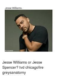 Jesse Williams Memes - jesse williams its tv scenes jesse williams or jesse spencer tvd