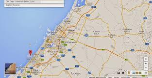 world map city in dubai map of dubai in the world major tourist attractions maps