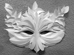 unique masks newport paper arts festival unique paper masks oregon coast