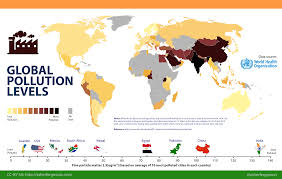 Wildfire Air Pollution Map by Map Showing Global Air Pollution Levels From 2013 To 2014 U2013 India