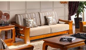 Furniture In Small Living Room Wooden Sofa Set Designs For Small Living Room Great Wooden Sofa