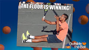 Tennis Memes - tennis memes get nick kyrgios approved outside the ball