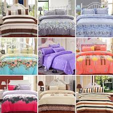 Cotton Bed Linen Sets - new printing bedding set fashion bed sheet duvet cover