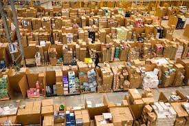 black friday online amazon amazon staff prepare for black friday daily mail online