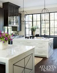 kitchen islands atlanta we the birdcage lights and accent on the end of the counter