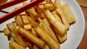 frites de manioc recette par la tendresse en cuisine