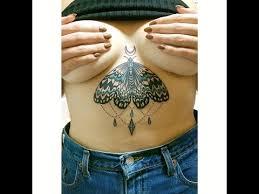 sternum tattoo experience youtube