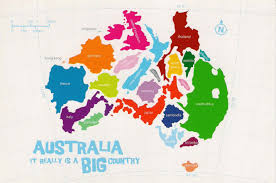 austrial map 17 maps of australia that will make your mind boggle