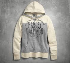 womens sweatshirts u0026 sweaters harley davidson usa