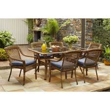 outdoor aluminum dining chairs round patio set outdoor patio