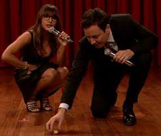 jimmy fallon rashida jones do amazing song parodies