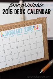 free printable 2016 desk calendar
