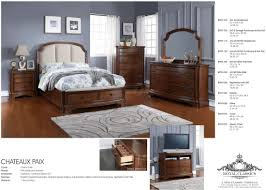 Next Mirrored Bedroom Furniture Chateaux Paix Cherry King Upholstered Panel Storage Bed