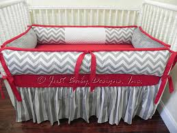 Custom Crib Bedding Sets Custom Crib Bedding Set Alex Boy Crib Bedding Gray