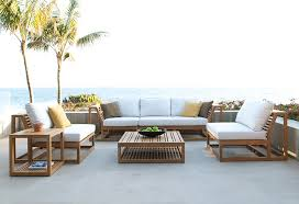 Teak Furniture Patio Maya Teak Sectional Modular Sectional Sofa Westminster And Teak