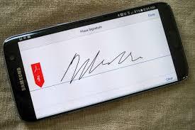 membuat tanda tangan digital gratis cara tanda tangan dokumen digital di android telset
