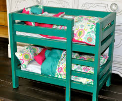 How To Make Wooden Doll Bunk Beds by Ana White American Doll Bunk Beds Diy Projects