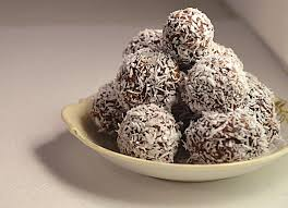jilly inspired dark chocolate truffles and coconut milk