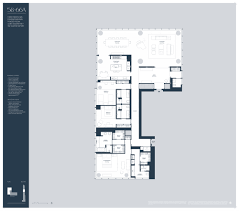 Manhattan Plaza Apartments Floor Plans by Baccarat Hotel And Residences Floor Plan Apartment 44 Floor