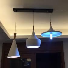 Multi Pendant Lighting E26 E27 Rectangle Ceiling Plate 3 Light Pendant