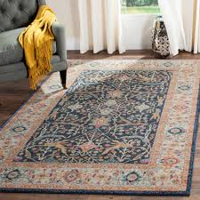 Area Rugs 6 X 10 Safavieh Navy 8 Ft X 10 Ft Area Rug Mad612d 8