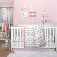 Green Elephant Crib Bedding Green And Brown Elephant Baby Bedding Baby Bed