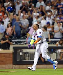 J Homer Ball Funeral Home by Yoenis Cespedes Celebrates Walk Off Home Run With Glorious Bat
