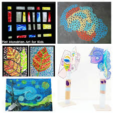30 artist inspired art projects for kids u2013 the pinterested parent