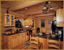 Cabin Light Fixtures Lovely Remodeling Log Cabin Kitchen Using Classic Ceiling Light