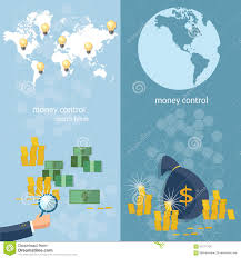 Online World Map by World Banking Money Transfer World Map Transactions Banners Stock
