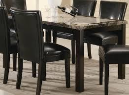 coaster carter rectangular marble dining table 102260 at