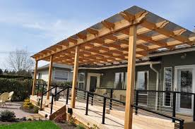 Pergola Design Ideas by Exterior Simple Wooden Pergola And Gazebo Design Attached To