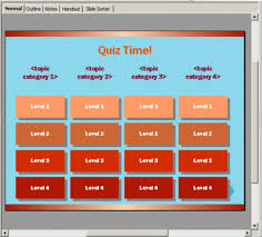 trivia game template for open office presentation tomyads info