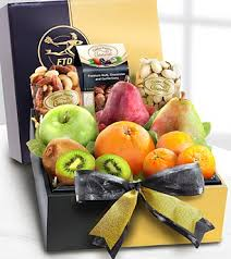 fruit gift box the ftd gourmet fruit cheese gift box mbr15 baskets