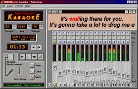 the version of midimaster karaoke free in