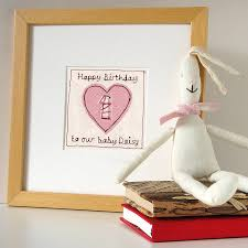 personalised heart age birthday card by milly and pip